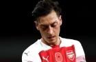 Arsenal xác nhận lý do Mesut Ozil vắng mặt