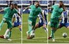Benzema tái hiện cú giật gót kinh điển của Guti, Real gieo rắc nỗi buồn cho xứ Catalunya