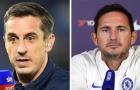 Gary Neville chỉ trích sao Chelsea, Lampard lập tức 'trả đũa'