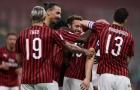 Hủy diệt đối thủ 5 bàn, AC Milan tiến vào top 6