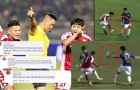 CĐV TP.HCM phẫn nộ, chỉ trích mạnh mẽ trọng tài chính trận gặp Hà Nội