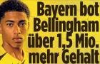 Bayern từng muốn nẫng tay trên Dortmund vụ Bellingham