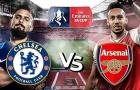 Đội hình kết hợp chung kết FA Cup: 'Kẻ đóng thế' Arsenal, song tấu Chelsea