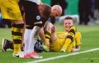 XONG! Dortmund xác nhận Reus nghỉ thi đấu vô thời hạn