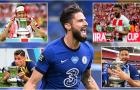 Olivier Giroud: 'Lá bùa' hộ mệnh của Chelsea tại FA Cup