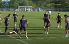 Neymar tức tối vào bóng nguy hiểm với Mbappe