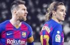 Tân HLV Barca gặp khó giữa Antoine Griezmann và Leo Messi