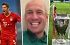 Robben nhắn sao Bayern: 'Hãy vô địch Champions League rồi đến Groningen đá với tôi'