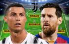 Đội hình siêu khủng của Juventus nếu Messi kết hợp với Ronaldo