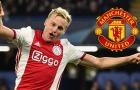 """""""Van de Beek xứng đáng khoác áo Man Utd"""""""