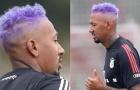 Bayern Munich tập luyện, nhà vô địch World Cup khoe mái tóc cực lạ