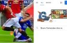 Bật cười với kết quả của Google khi gõ từ khóa 'Bruno Fernandes ăn vạ với...'