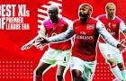 Đội hình đỉnh nhất của Arsenal ở kỷ nguyên Premier League