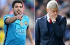 Arsene Wenger xấu hổ khi Arsenal mua Suarez với giá 40 triệu + 1 bảng