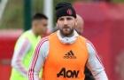 Luke Shaw: 'Đó là ngày tồi tệ trên sân tập của Man Utd'