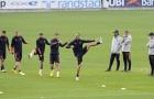 Không Ronaldo, dàn sao Juve căng thẳng trước trận mở màn Champions League