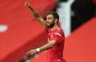 Biểu cảm hài hước của Bruno Fernandes khi được chỉ định làm đội trưởng M.U
