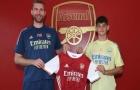 XONG! Arsenal ký hợp đồng với 'tiểu đội trưởng' của Tam Sư