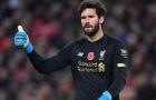 XONG! Liverpool xác định ngày đón Alisson Becker trở lại