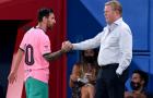 Cái ôm của Koeman và sự vực dậy một 'mãnh thú' bên trong Messi