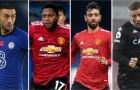 Đội hình tiêu biểu vòng 8 Premier League: M.U 'đóng đinh' 3 suất