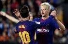 Rakitic thổn thức về Messi
