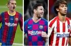 Đội hình kết hợp Barca - Atletico Madrid: Tam tấu trong mơ