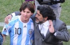 Maradona ra đi vĩnh viễn, Messi gửi thông điệp bất diệt