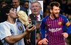 Maradona và Messi, ai xuất sắc hơn? Sir Alex có câu trả lời