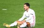 Thống kê 7 ca chấn thương mà Hazard mắc phải kể từ khi chuyển đến Real Madrid