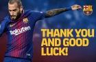CHÍNH THỨC: Aleix Vidal rời Barcelona với giá rẻ mạt