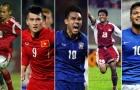 """5 """"cỗ máy hủy diệt"""" đáng sợ nhất AFF Cup: Malaysia 'hít khói' Việt Nam"""