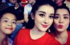 Ngắm nhan sắc 3 mỹ nhân 'cháy hết mình' cổ vũ đội tuyển Việt Nam