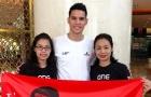 CĐV Thái Lan lặn lội đến Mỹ Đình cổ vũ thủ môn ĐT Philippines... và cái kết đắng