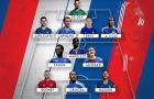 Đội hình hay nhất Premier League mà Jose Mourinho từng dẫn dắt: Màu xanh lấn át toàn diện