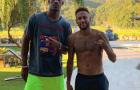 Được Neymar 'mách nước', sao NBA sút phạt đền chuẩn không cần chỉnh