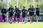 Dào sao Bayern tập luyện hăng hái, hướng đến trận đấu gặp Barca