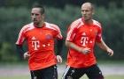 Đội hình 11 người đồng đội hay nhất trong sự nghiệp Arjen Robben