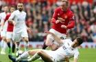 Chùm ảnh: Rooney nổ súng, Man Utd vẫn chưa thoát kiếp hoà tại Old Trafford