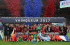 Chùm ảnh: PSG ăn mừng chức vô địch cực hoành tráng