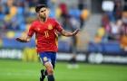Chùm ảnh: Asensio lập hat-trick, U21 TBN đè bẹp 'nhược tiểu'