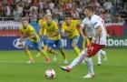 Chùm ảnh: U21 Ba Lan thoát hiểm ngoạn mục trên chấm 11m