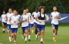 Dàn sao Chelsea tập luyện đủ kiểu chờ ngày đi du đấu