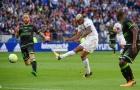 Lyon 2-1 Guingamp: 3 điểm chật vật