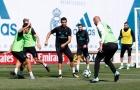Ronaldo so kè quyết liệt cùng Zidane trước đại chiến với Betis