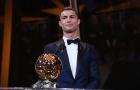 Điểm tin sáng 08/12: Ronaldo giành Bóng vàng; Mbappe thăng tiến chóng mặt