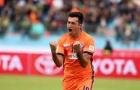 Gaston Merlo chạm 1 tay vào danh hiệu Vua phá lưới V-League 2016