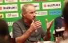 Alfred Riedl: 'Indonesia đã thắng Việt Nam nếu may mắn hơn'