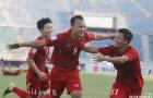 Chùm ảnh: ĐT Việt Nam 'quật ngã' Malaysia giành vé vào bán kết