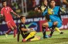 Báo Malaysia chê hàng tiền vệ đội nhà yếu kém